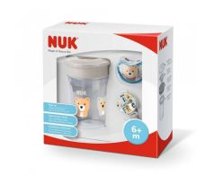 NUK Set NUK Magic Cup Space béžový 6m+